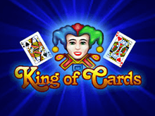 Автомат King Of Cards в казино Вулкан